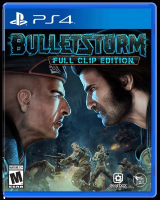 Portada de BulletStorm: Full Clip Edition para PS4.