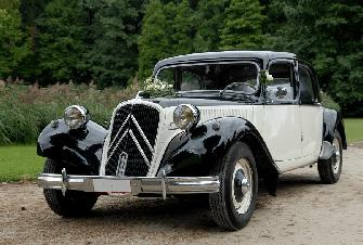 Citroën Traction 11B noir&blanc