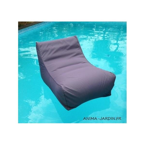 Fauteuil flottant piscine Kiwi gonflable canap de piscine pouf pas cher