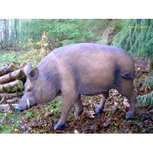 sanglier en resine cochon sauvage animal de la foret decoration jardin achat