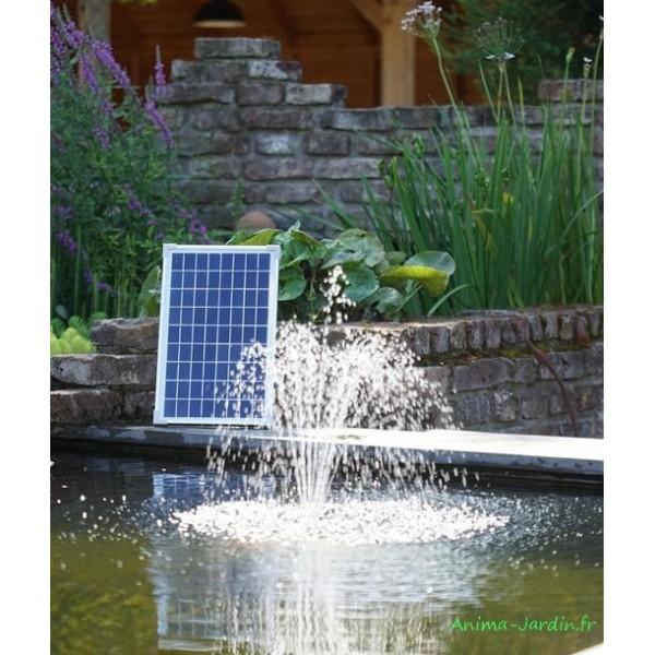 pompe a eau panneau solaire pour bassin solarmax 600 ubbink pas cher