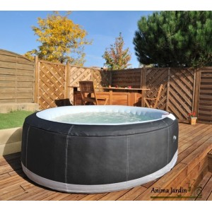 Jacuzzi 2 Places Gonflable jacuzzi spa gonflable mspa test bruit bulles en fonction youtube