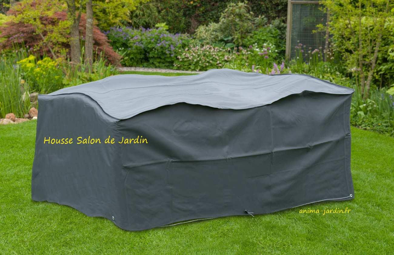 Housse de protection salon de jardin table rectangulaire impermable