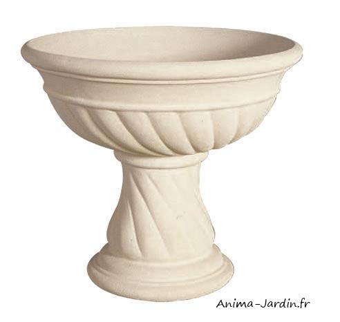 vasque renaissance 56 cm pierre reconstituee coupe contenant achat