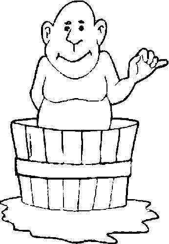 Malvorlage - Badewanne malvorlagen 7