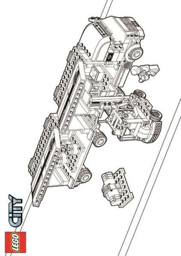 Malvorlage - Lego city ausmalbilder k7fpy