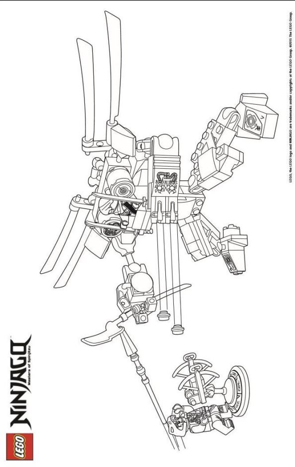 Malvorlage - Lego ninjago ausmalbilder rtbje