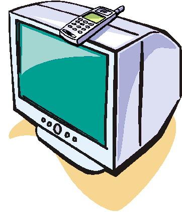 Clipart - Clipart televisie animaatjes 12