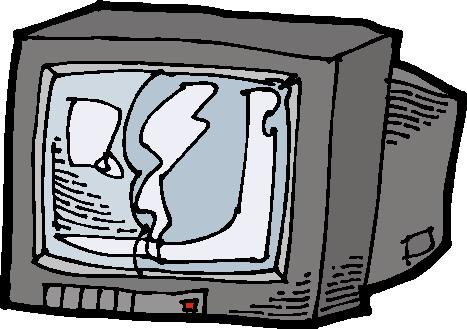 Clipart - Clipart televisie animaatjes 144