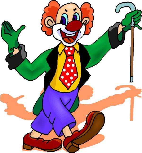 clowns in car clipart clip art