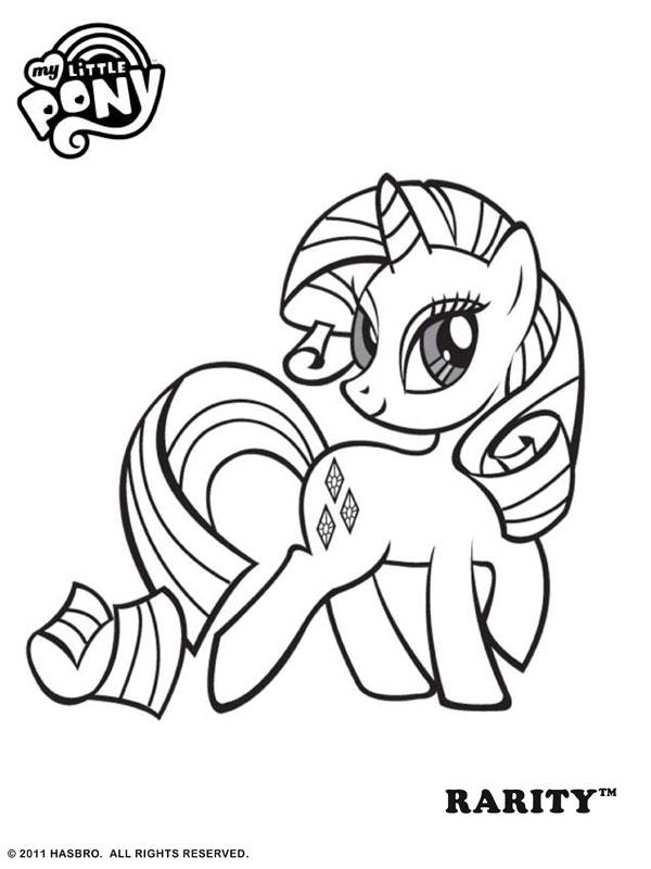 My Little Pony Kleurplaten » Animaatjes.nl