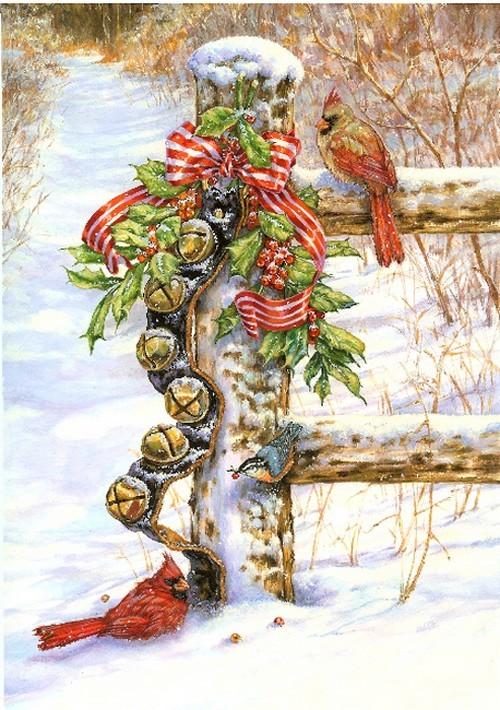 Kerst Vogels Plaatjes Animaatjesnl