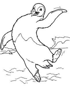 Pinguin Kleurplaten » Animaatjesnl