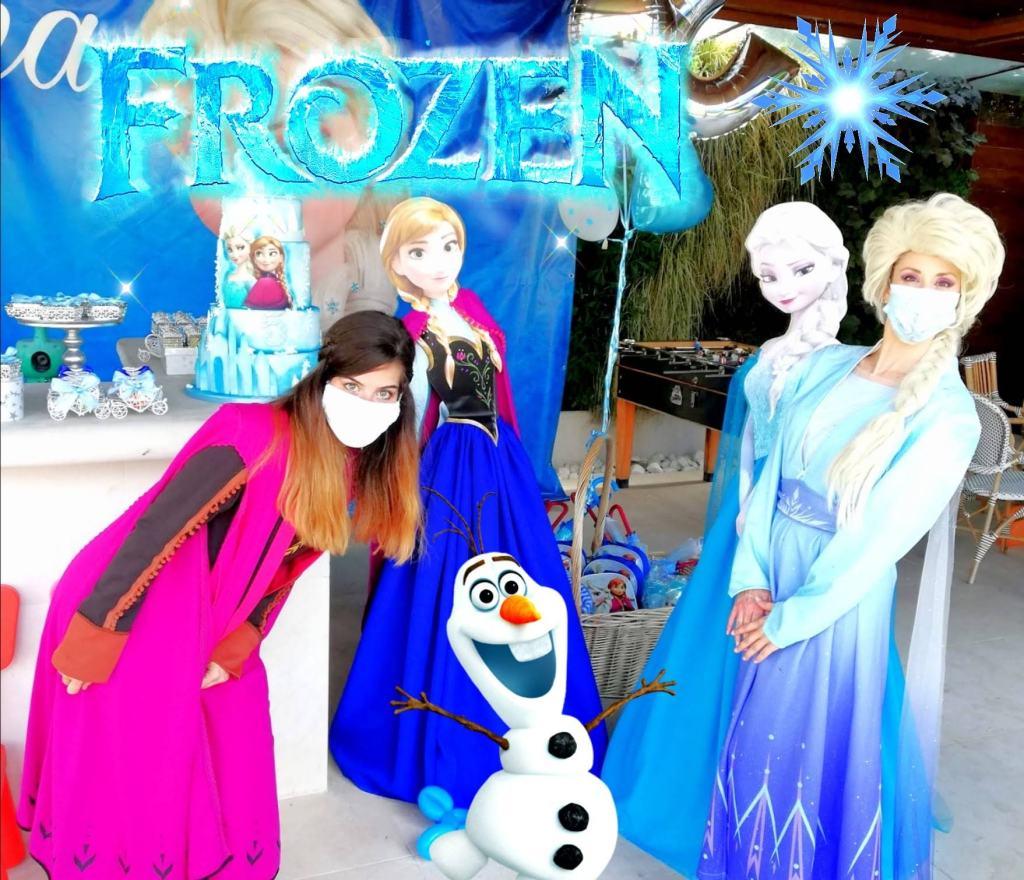 Fiesta tematica frozen