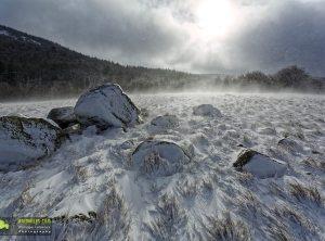 Lingas, terres de givre et de glace