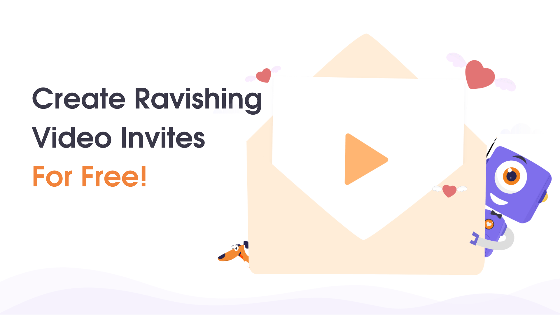 create awesome video invitations