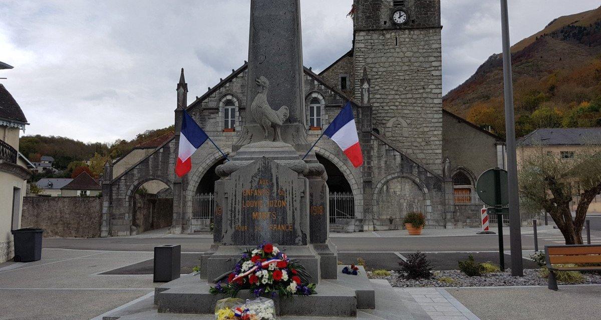 11 novembre 2018 : hommage aux animaux morts pour la France