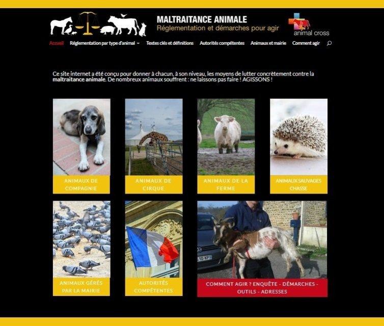 Animal Cross lance un nouveau site internet sur la maltraitance animale