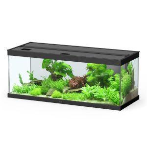 meuble pour aquarium style led 100 noir