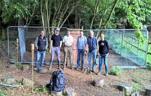 The intrepid team of builders