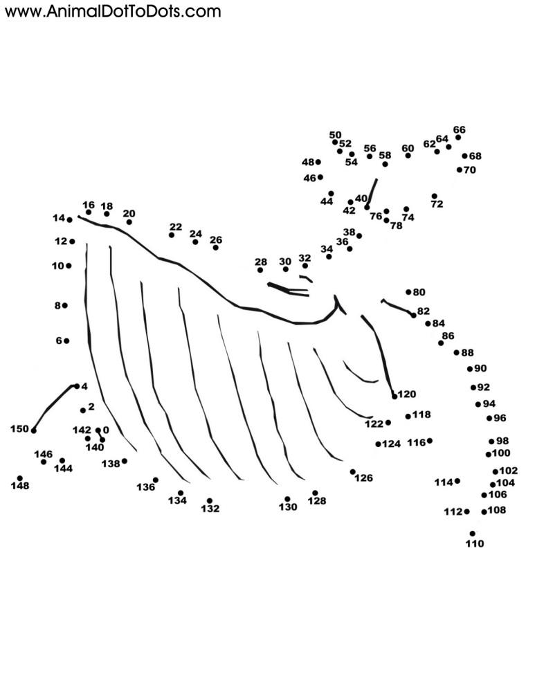 Skip-Counting by Twos: Free Printable Animal Dot-to-dot