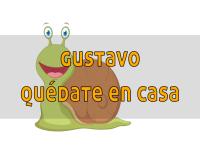 Gustavo, ¡quédate en casa!