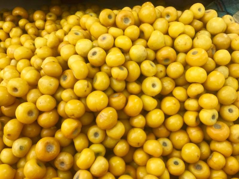 Frutas mexicanas, nanche