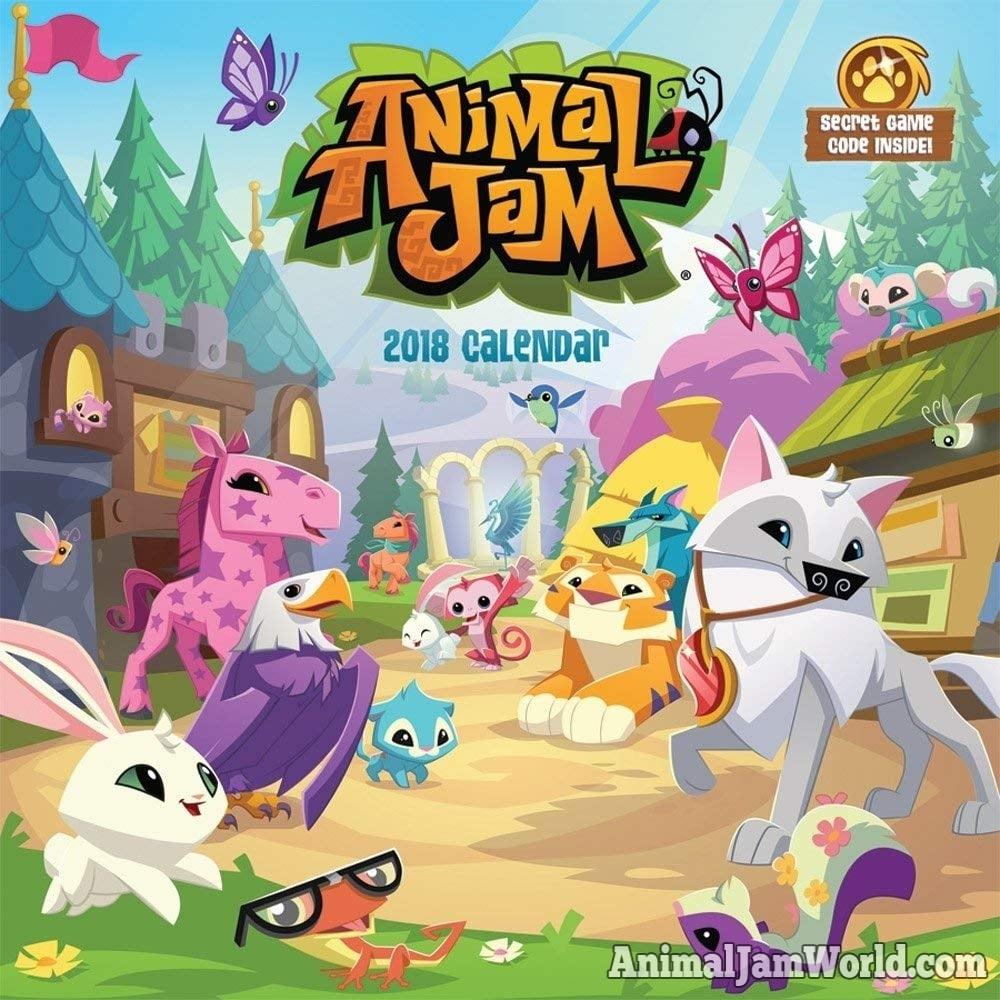 animal jam calendars for