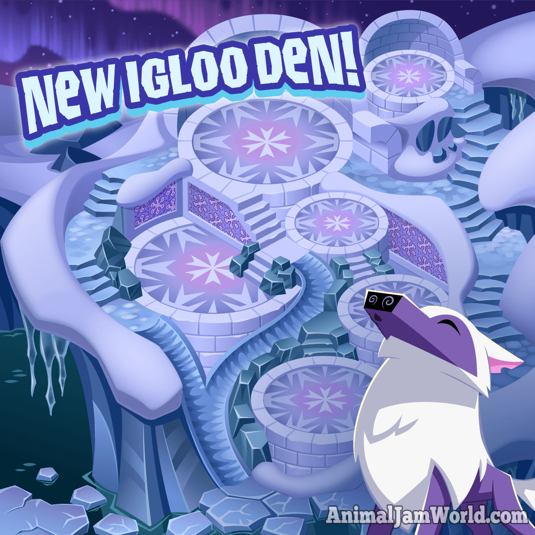 Animal Jam Igloo Estate Den