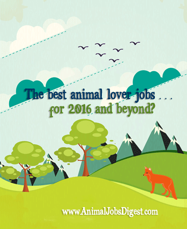 Animal Jobs Digest | The Best Animal Lover Jobs for 2016 and Beyond?