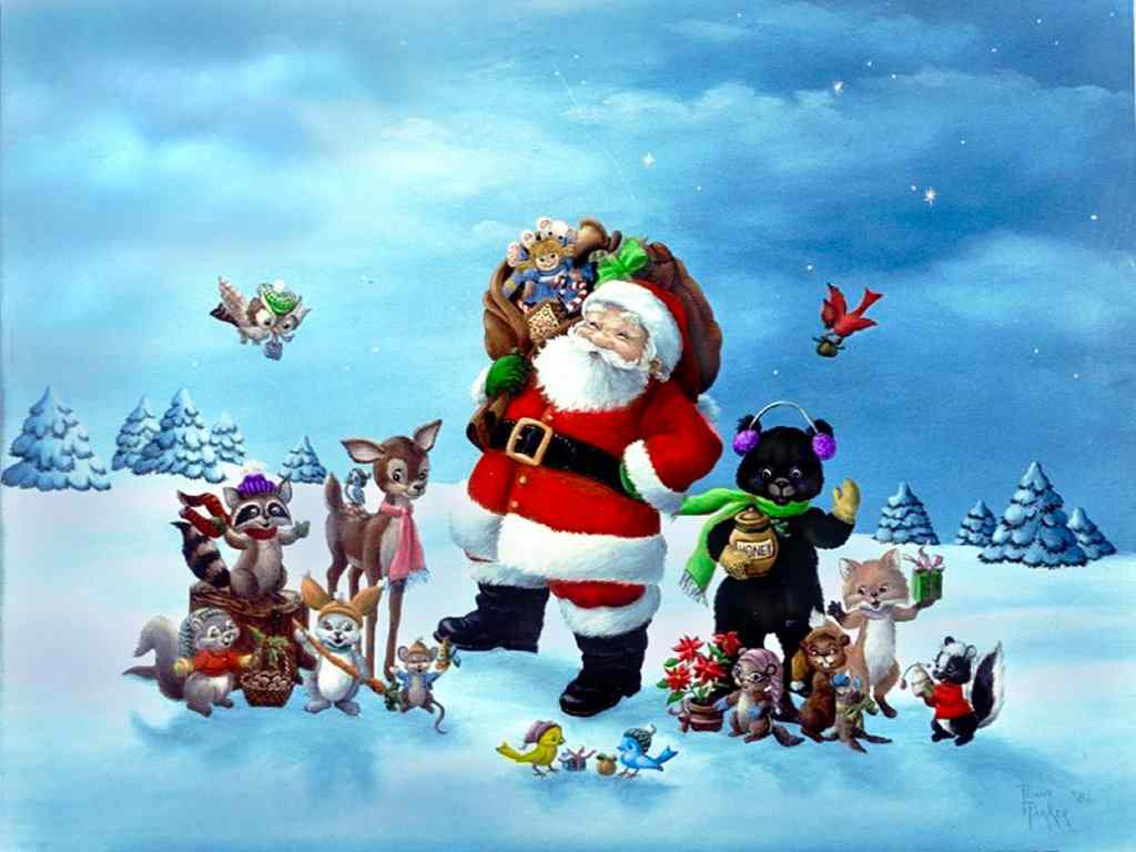 Merry Chrstimas To All The Animals 1 Merry Christmas To All The Animals