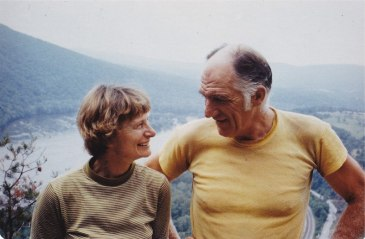 Peggy Larson & Roger Prior spent four and a half months hiking the Appalachian Trail in 1977.