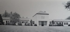 The Works Progress Administration built this shelter for the Oregon Humane Society in 1939. The last parts of it were demolished in 2000.