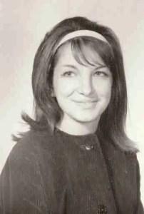 Virginia Handley, 1963, as a senior at Galileo High School in San Francisco.