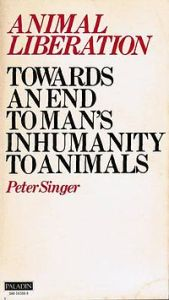1977 Paladin edition of Animal Liberation, by Peter Singer