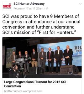 From left to right: U.S. Senator Steve Daines (R-MT), Rep. Jeff Duncan (R-SC), Rep. Paul Gosar, (R-AZ), Rep. George Holding (R-NC), Rep. Devin Nunes (R-CA), Rep. Jason Smith (R-MO), Rep. David Valadao (R-CA), Rep. Ryan Zinke (R-MT), and Rep. Billy Long (R-MO).