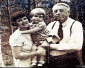 Anna and James Briggs with son