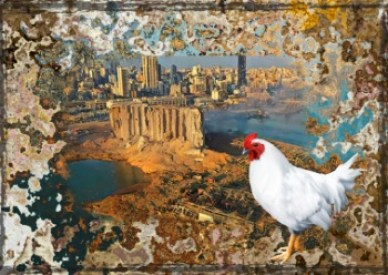 Beirut explosion and chicken
