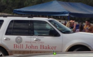 Cherokee principal chief Bill John Baker's car.  (SHARK)