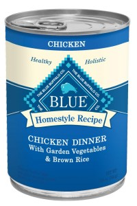 Blue Buffalo Chicken dinner can