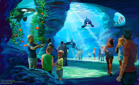 "SeaWorld ""Blue World"" concept drawing."
