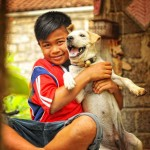 Bali better at handling farting goats (or sheep) than canine rabies
