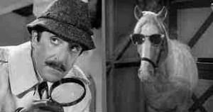 Inspector Clouseau meets Mr. Ed.