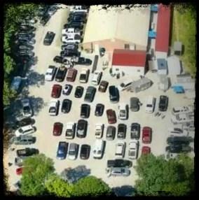 Honest Abe's parking lot
