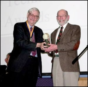 E.O. Wilson and Michael Soule in 2009