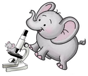 Ele & microscope