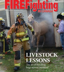 Firefighting Canada (dramatic horse rescue)