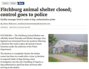 Fitchburg shelter