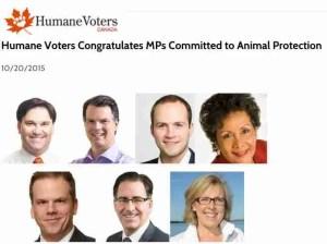 Humane Voters slate