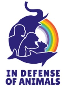 In Defense of Animals logo